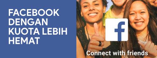 facebook dengan kuota lebih hemat
