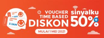 voucher time based diskon