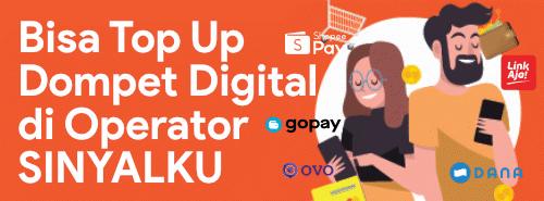 Top Up Dompet Digital